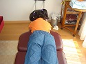 腰のネジレ矯正前−伊丹 宝塚市 腰痛 骨盤矯正 姿勢矯正 むち打ち